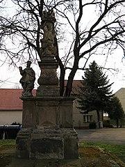 Sousoší Panny Marie, svatého Felixe a svatého Václava