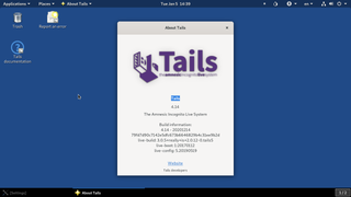Tails (operating system) Linux distribution for anonymity and privacy