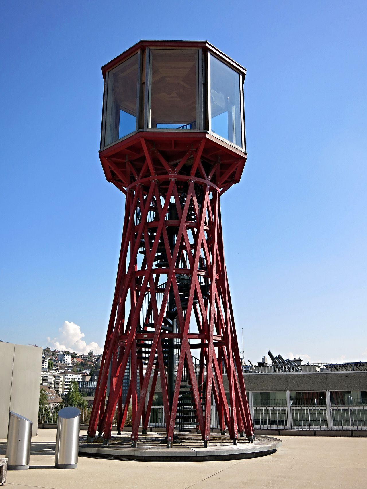 Der rote TBZ Turm