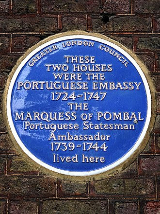 Embassy of Portugal, London - Former Portuguese Embassy in Golden Square