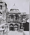 THE CHURCH OF THE HOLY SEPULCHER IN THE OLD CITY OF JERUSALEM. (COURTESY OF AMERICAN COLONY) כנסיית הקבר הקדוש בירושלים.D826-068.jpg