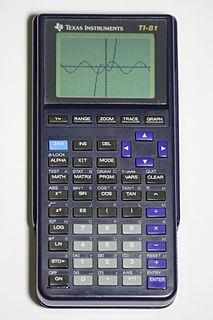 TI-81 calculator