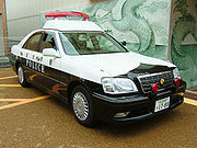Toyota Crown police car of Aichi Prefecture
