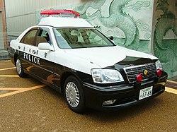 Aichi Prefecture Toyota Crown police car