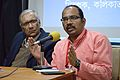T Vishnu Vardhan - Panel Discussion - Collaboration with Academic Institutes for the Growth of Wikimedia Projects in Indian Languages - Bengali Wikipedia 10th Anniversary Celebration - Jadavpur University - Kolkata 2015-01-10 3454.JPG