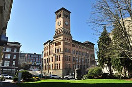 Old City Hall in Tacoma.