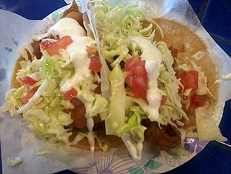 Taco - Two fish tacos in Bonita, California