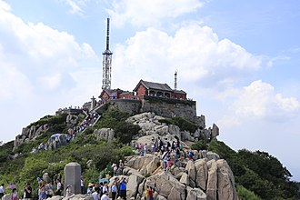 Mount Tai - Jade Emperor Peak, the summit of Mount Tai