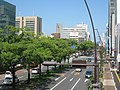 Takamatsu Chuo-dori in Tenjinmae view north.jpg