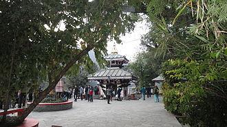 Phewa Lake - Tal Barahi Temple lying in the center of Phewa lake, Pokhara
