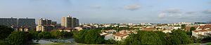 Tama New Town - Panoramic view of Tama New Town