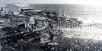 Tamarama, New South Wales - The Bondi Aquarium at Tamarama, circa 1890