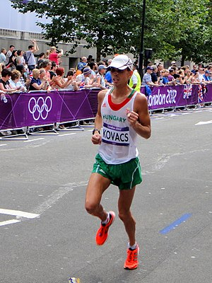 Hungary at the 2012 Summer Olympics - Tamás Kovács finished seventy-second in men's marathon.