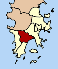 Location of Chalong in Mueang Phuket