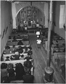 Taos County, New Mexico. Mass at Arroyo Seco church - NARA - 521926.tif