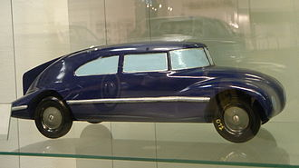 Tatra 77 - Tatra 77 model 1:10 by Paul Jaray, 1934