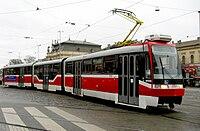 Tramvaj Tatra K3R-N v Brně