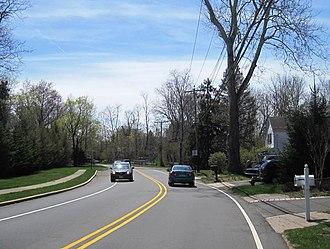 Taylors Mills, New Jersey - Taylors Mills Road