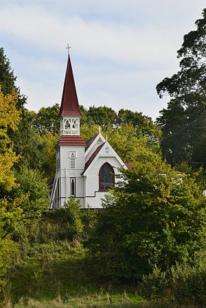Te Aute College - Te Aute College Chapel, designed by Charles Natusch