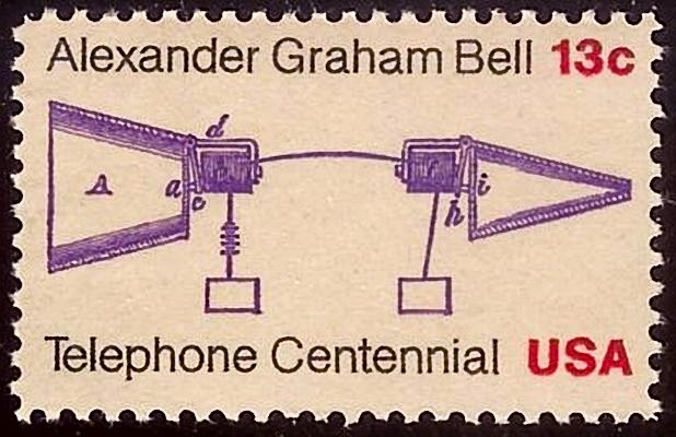 Telephone Centennial Issue 1976-13c