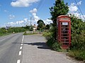 Telephone box, Pulham - geograph.org.uk - 1359273.jpg