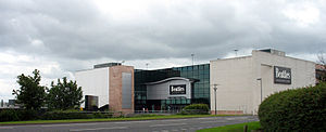 Telford - The Beatties department store at the west end of Telford Shopping Centre, which was renamed House of Fraser in early 2007.