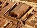 Temple de Venus et Rome, plan de Rome de Paul Bigot, Caen MRSH.JPG