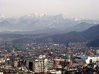 Tendō, Yamagata - Tendō skyline