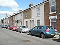 Terraced houses in Manor Park Avenue - geograph.org.uk - 1493887.jpg