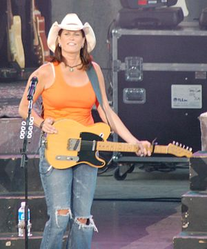 Terri Clark - Terri Clark performing at the Western Idaho Fair in Boise, Idaho on August 22, 2006