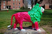Lion at The Williston Northampton School