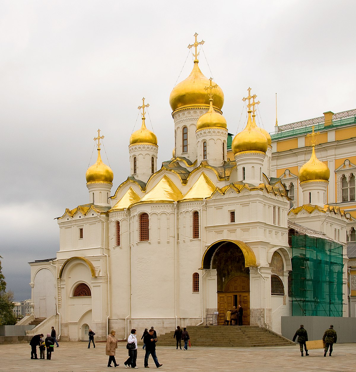 Archangel Cathedral of the Moscow Kremlin: description, architecture 86