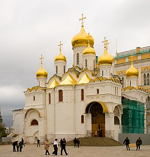 Cathedral of the Annunciation, Moscow Church in Moscow, Russia