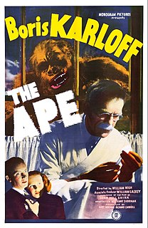 <i>The Ape</i> (1940 film) 1940 film by William Nigh