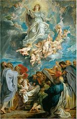 sketch Assumption of Mary
