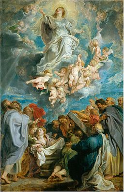 The Assumption of the Virgin (1612-17); Peter Paul Rubens