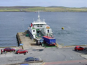 SIC Ferries - The Bressay Ferry at Lerwick