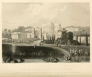 Residencies of British India - The British Residency at Hyderabad