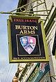 The Burton Arms, Pub Sign - geograph.org.uk - 1293108.jpg