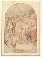 """The Consecration of the Site of a Church in Rome by a Pope (""""The Miracle of Saint Mary of the Snows""""?). MET DP819303.jpg"""