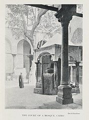 The Court of a Mosque, Cairo (1906) - TIMEA.jpg