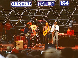 The Crusaders - The Crusaders at Knebworth Park, UK, Capital Radio Jazz Festival, 1982
