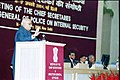 The Deputy Prime Minister Shri L.K. Advani speaking at the meeting of the Chief Secretaries, Directors General of Police on Internal Security in New Delhi on January 16, 2004.jpg
