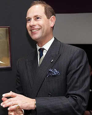 Prince Edward, Earl of Wessex - The Earl of Wessex at Yate, Gloucestershire, December 2011