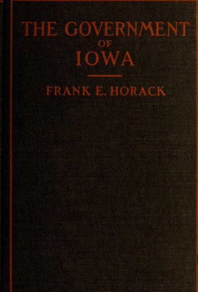 File:The Government of Iowa 1911.djvu