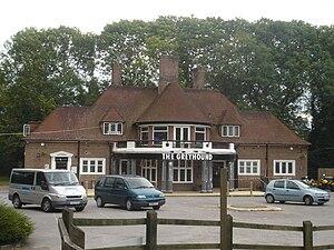 Tinsley Green, West Sussex - Image: The Greyhound Pub, Tinsley Green, Crawley