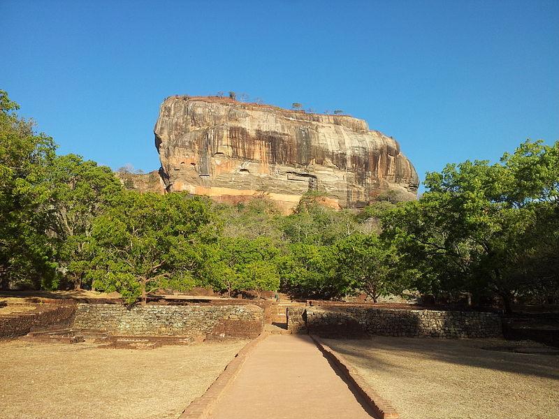File:The Lion Rock, Sigiriya, Sri Lanka.jpg