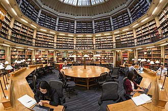 Maughan Library - The domed Round Reading Room
