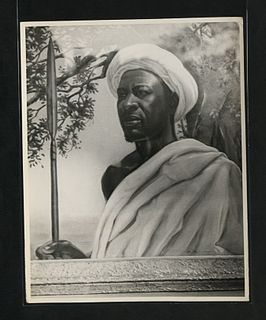 Chief Mkwawa Hehe tribal leader in German East Africa