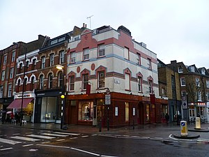 Upper Street - The former Old Parr's Head pub in Upper Street
